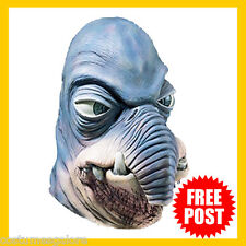 Adult Fancy Dress Up Costume RD Licensed Star Wars Watto Adult Latex Mask Deluxe