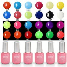 8ml Perfect Summer Soak Off Nail Gel Polish Pure Shiny Color Classic Lacquer Tip