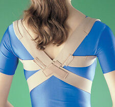 OPPO/2075 Posture Corrector Support AC CollarClavicle Thoracic Spine Brace Pain