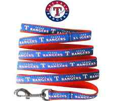 MLB Pet Fan Gear TEXAS RANGERS Leash Leashes for Dog Dogs Puppy Puppies