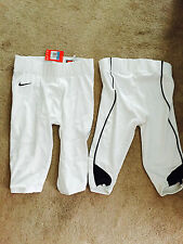 Authentic Nike Destroyer Football pants game pad ready Adult white with piping