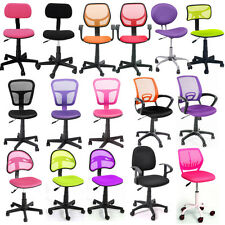 On Sale Promotion Office Task Computer Kid Swivel Midback Chair Mesh Fabric Seat