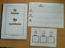 HOME SYMBOL PACK-great introduction in to pecs helps lower anxiety levels