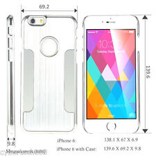 Aluminum Ultra-thin Metal Case Bumper Cover Skin for Apple iPhone 6