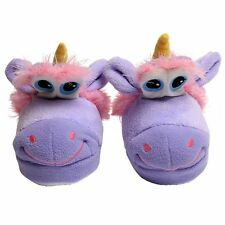 New funny slippers animal unicorn warm gift unisex pet kid men ladies cheap