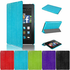 New PU Leather Smart Case Cover Stand For Amazon Kindle Fire HD 6'' 2014 UK