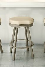 Amisco Bryce Backless Swivel Counter, Bar Stool or Spectator Stool - 41444