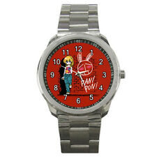 NEW Wrist Watch Sport Analogue Leather Pani Poni Dash anime
