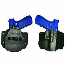 Paddle Holster for SW, Smith & Wesson, * Black Kydex * OWB Gun Holster
