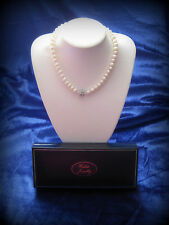 Freshwater Pearl Necklace Large 9-10mm Button Pearls