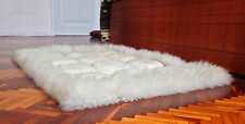 GORGEOUS ECUADORIAN SUPER SOFT 100% ALPACA LLAMA FUR LUXURY HANDMADE RUG CARPET