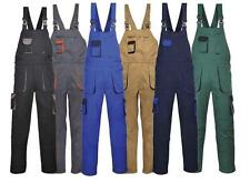New Bib and Brace Texo Overalls Work Wear Knee Pad Bib & Brace Dungarees XS-4XL