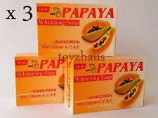 RDL PAPAYA Whitening Soap with Vitamin A, C & E for Lightening Skin