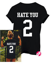 Hate You 2 Black Tshirt and Vest style options Tumblr SWAG Dope Fashion NEW