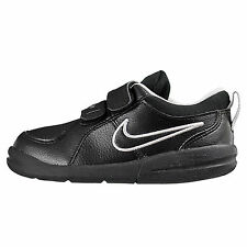 Nike Pico 4 TDV Sneakers Shoes 6 7 8 9 10 Toddler NEW Black Leather