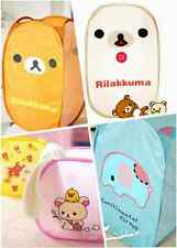 Cute More style Cartoon Foldable Clothes Laundry Basket Storage Bag free ship