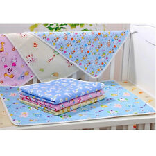 Cotton Baby Portable Foldable Waterproof Urine Pad Cover Soft Nappy Changing Mat