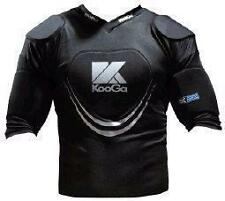 Kooga Warrior III Adults Black/Silver Body Armour