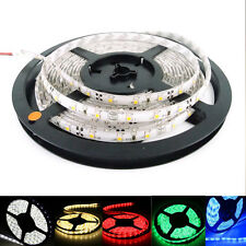 5M 300/600Leds  3528 SMD LED Strip Lights Lamps White Red Green Blue Waterproof