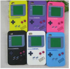 3D Retro Game Boy Silicon Back Case Cover For iPhone 4 4S 5 5S iPod Touch 4 5