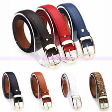 Sexy Womens Lady Leather Pin Buckle Dress Casual Waist Strap Belts Waistband