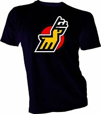 MICHIGAN STAGS DEFUNCT WHA HOCKEY VINTAGE STYLE  T-SHIRT NEW Size s-xl Black