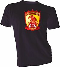Guangzhou Evergrande Taobao F.C. China CSL Soccer Football Black T-SHIRT NEW