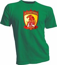 Guangzhou Evergrande Taobao F.C. China CSL Soccer Football Green T-SHIRT NEW
