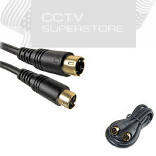 6ft 12ft 25ft 50ft S-Video 4 Pin Male to Male Cord Cable Gold Plated DVD HDTV