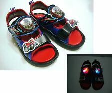 TransFormers LED Lights*Optimus Prime* Kid's boys Sandals #TF3251 Free Shipping