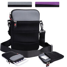 KroO NDR2-14 7 in Convertible Protective Tablet Sleeve and Shoulder Bag Cover