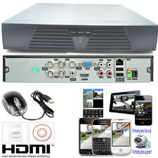 4/8 Channel CCTV DVR HDMI Outdoor Home Video Security Surveillance Camera System