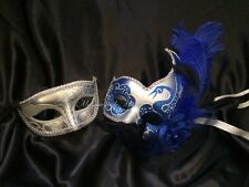 Couple Masquerade Mask Pair Costume School Prom Birthday Wedding Bachelor Party