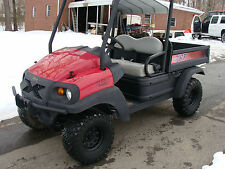 2009 CLUB CAR XRT 1550 GAS 4X4 NO RESERVE DUMP BED GATOR SIDE BY SIDE RANGER