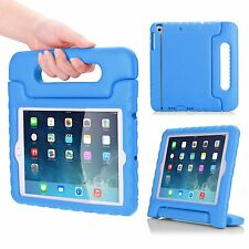 Kids Shock Proof Dual Protective case w/ Folding Carry Stand for iPad Mini 1/2/3