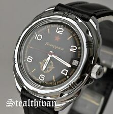 VOSTOK KOMANDIRSKIE Russian Mechanical Mens Military Watches And Leather Straps