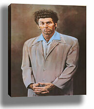 SEINFELD THE KRAMER ART HIGH QUALITY CANVAS POSTER PRINT - CHOOSE SIZE/FRAME