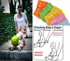 Kids Infant Reusable Washable Baby Cloth Diapers Nappy Cover Adjustable XIUS
