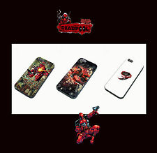 MARVEL & DC DEADPOOL  PHONE CASE FOR IPHONE 4 4S  5  GALAXY S3  S4 S5 SPIDERMAN