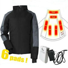 infrared heated jacket / warm coat winter clothes with 4400mah battery & charger