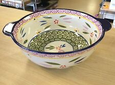 Temp-tations Old World/Floral Lace 2 qt. Mixing Bowl w/ Lid - CHOOSE YOUR COLOR!