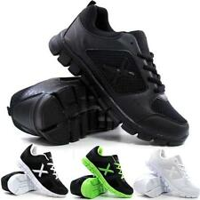 Mens Running Trainers Gym Walking Shock Absorbing Sports Light Weight Shoes Size
