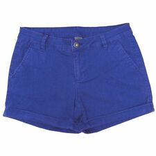 "Vero Moda Blue Cobolt Rider 634 Denim Turn Up Shorts Sizes 6(29""W) to 12(31""W)"