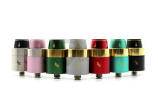 Authentic Royal Hunter RDA by Council of Vapor - Colors: Black/Gold and SS