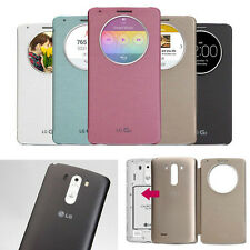 2015 Ultra Slim Quick Circle Clear Window Flip Case Cover For LG Optimus G3