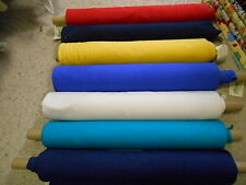 POLY/COTTON RIB KNIT RIBBING FABRIC - 75CM WIDE TUBULAR -8 COLOURS - CLEARANCE