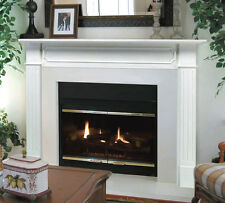 "Pearl Mantel classic 48"" Berkley white traditional fireplace mantel. 520-48"