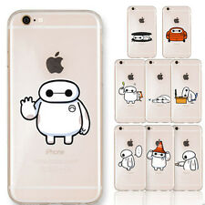 Cute Cartoon Super Hero TPU Clear Soft Case Cover For Apple iPhone 5 5S 5C 6