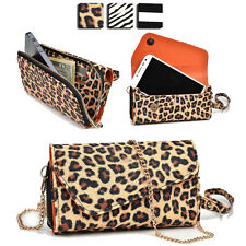 Wild Trim Protective Wallet Case Cover & Crossbody Clutch for Smart-Phones MUS21