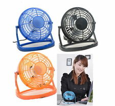 Notebook Laptop Computer Portable Super Mute PC USB Cooler Desk Mini Fan